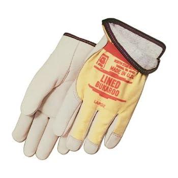 White Ox Elastic Band Rigging Gloves - Dozen by