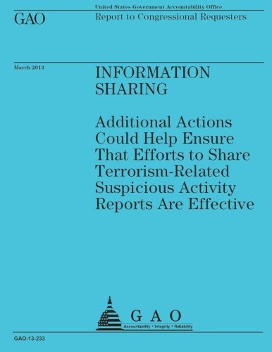 Download Report to Congressional Requesters: Information Sharing pdf epub