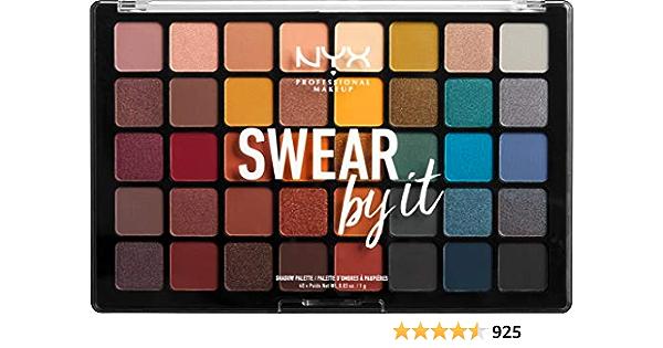 Amazon.com : NYX PROFESSIONAL MAKEUP Swear By It Shadow Palette