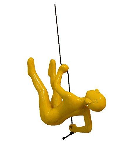 Amazon.com: Resin Made Climbing Man Yellow Position # 2 , New Design ...