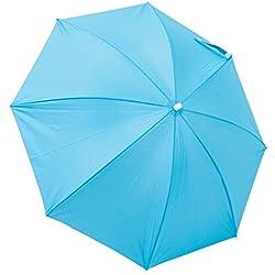 RIO Gear Rio Brands Beach Clamp-On Umbrella - Turquoise