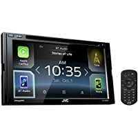 JVC KW-V830BT Double DIN Bluetooth In-Dash DVD/CD/AM/FM Car Stereo Receiver w/ 6.8 Touchscreen LCD Display, Apple Car Play, Android Auto