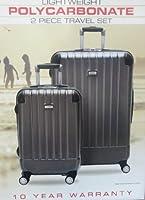 Ricardo Beverly Hills Lightweight 2 Pc Spinner Hardside Luggage Suitcase Set