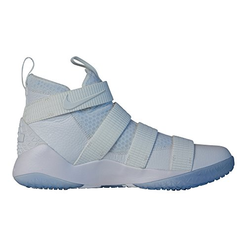Nike Lebron Soilder Xi Bianco / Platino Puro Blanc / Platine Pur Mens 10,5 D (m) Noi