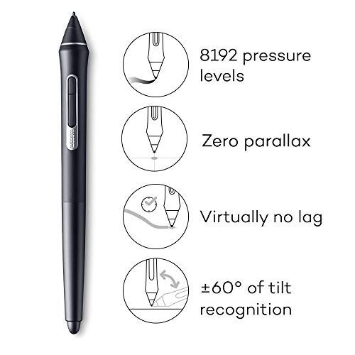 Wacom Cintiq Pro 24 Creative Pen and Touch Display – 4K Graphic Drawing Monitor with 8192 Pen Pressure and 99% Adobe RGB (DTH2420K0) by Wacom (Image #3)