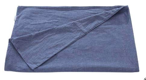Harkla Weighted Blanket Lightweight Cotton Duvet Cover Cooling Summer Duvet Cover for Weighted Blanket 15lb Blanket Cover - 55 x 70 in