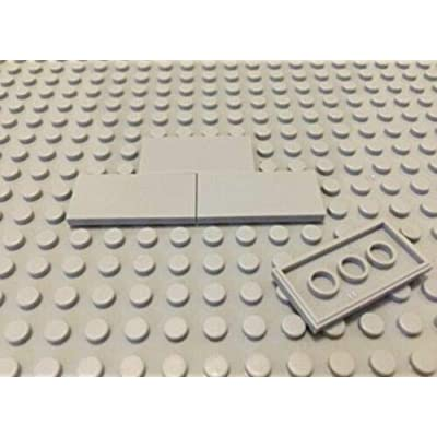 FIGLot 1/12 Building Block x 70 pcs for Diorama Floor Tile - Light Grey: Toys & Games