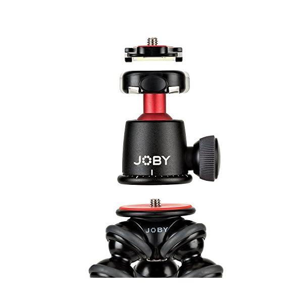 RetinaPix Joby GorillaPod 3K Flexible Mini-Tripod with Ball Head Kit, with A Bonus ZAYKiR Phone Adapter