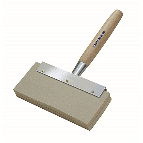 (Kraft Tool PL224 Blister Brush with Replaceable Felt Pads and Hardwood Handle)