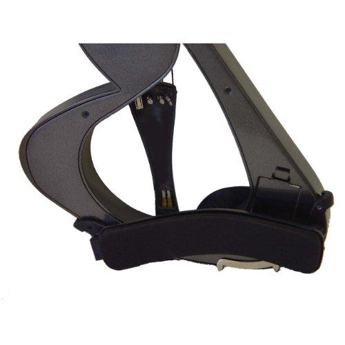 ViolinSmart Full Size 4/4 Electric Violin Set, Black by ViolinSmart