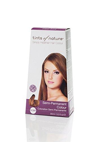Semi-Permanent Hair Colour- 5CBR Copper Brown 3 Ounces (Tints Of Nature Semi Permanent Hair Color)
