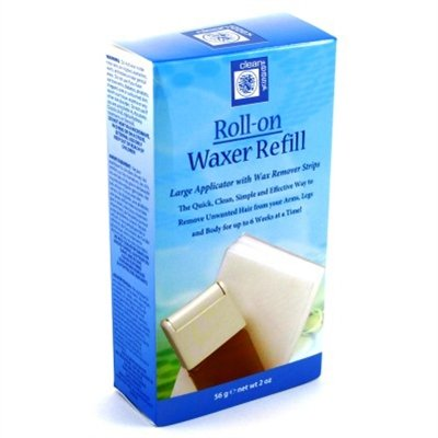 (Clean+Easy Roll-On Waxer Large Refill With Strips (2)