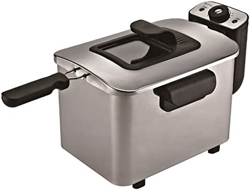 Grunkel - Freidora eléctrica 4 litros de capacidad y 2200 W de ...