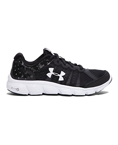 Boy's Under Armour 'Micro G Pulse II' Running Shoe, Size 3.5