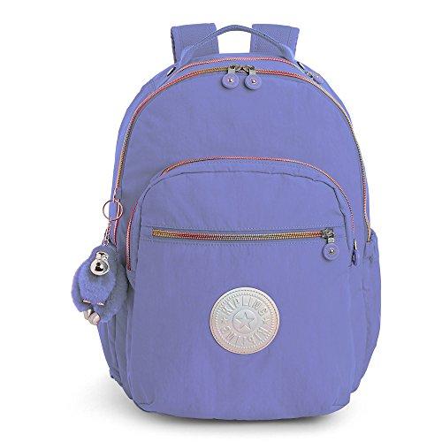 Kipling Women's Seoul Go Large Laptop Backpack One Size Bold Purple