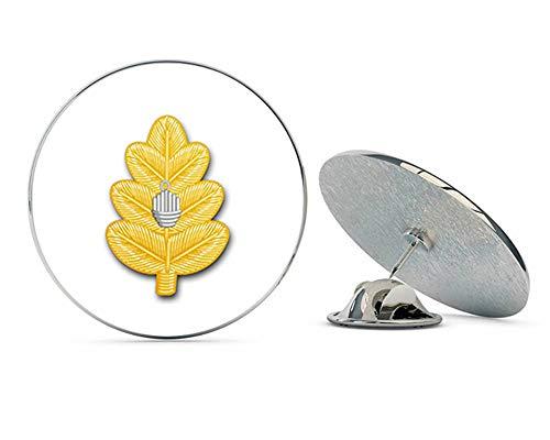 US Navy Medical Corps Oak Leaf Military Veteran USA Pride Served Gift Metal 0.75