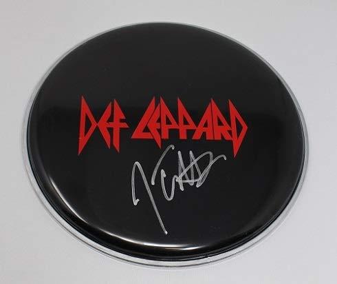 Def Leppard Hysteria Armageddon It Joe Elliott Signed Autographed Drum Drumhead Loa