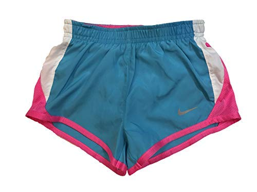 Nike Girl`s Dry Tempo Running Shorts (Clearwater(322139-699)/Pink, 4T) by Nike (Image #1)