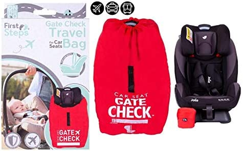 Pram Travel Bag Gate Way Check Protector for Standard Umbrella Stroller Airplane Travel Holiday Waterproof Universal Size Easy to Use Red Sack.