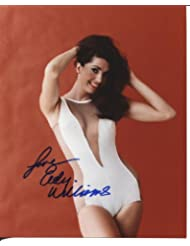 "* EDY WILLIAMS * sexy signed 8x10 photo ""Valley of the Dolls"" / UACC Registered Dealer # 212"