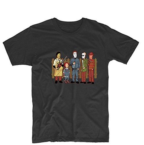 King of the Hill Horror Movie Villains Unisex Funny T Shirt Custom Tee