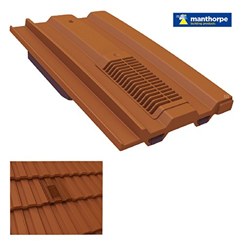 Terra Cotta Roof - Terracotta Mini Castellated Roof Tile Vent / Marley Ludlow Plus Redland Sandtoft
