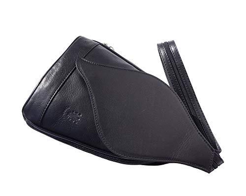2060 Dos Gm Florence Sacs Market Noir Sac Feuille Leather Foglia Ouverture À Avec Mode D'arbre qSH7Rw