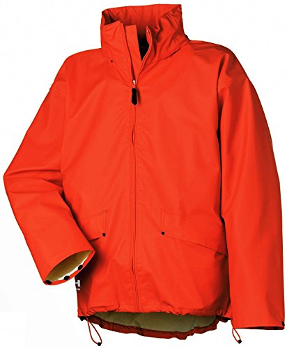 Helly Hansen Workwear Regenjacke wasserdicht Voss Jacket, orange, 70191