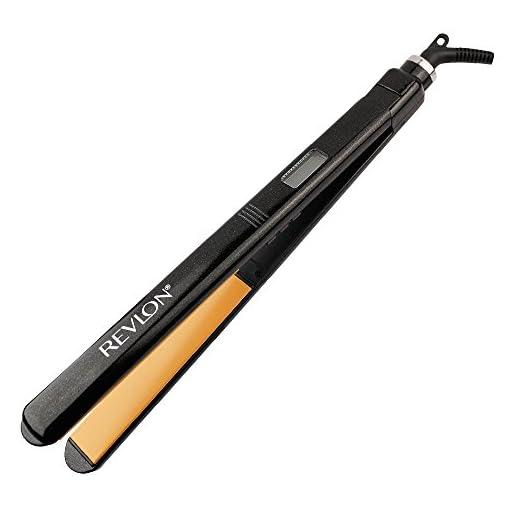 revlon rvst2160 - 41fO7b2beUL - Revlon Straightening & Curling Ceramic Flat Iron, 1″ Extra Long