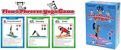 Chi Flow & Phreeze Yoga Game Card Deck