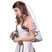 Sunvary White and Camouflage Wedding Bridal Veils