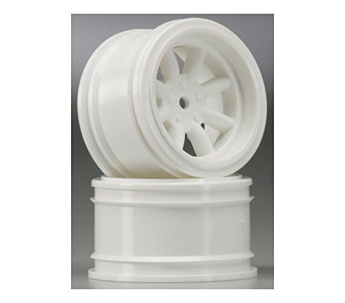 (Vintage 8 Spoke Wheel 31mm White 6mm Offset 3810)
