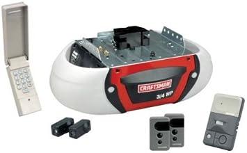 Craftsman Garage Door Opener 3 4 Hp Chain Drive 53990 Amazon Com