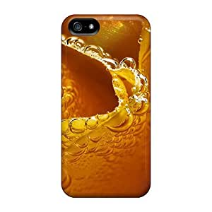 JonathCo Iphone 5/5s Hybrid Tpu Case Cover Silicon Bumper Frosted Yellow Rose
