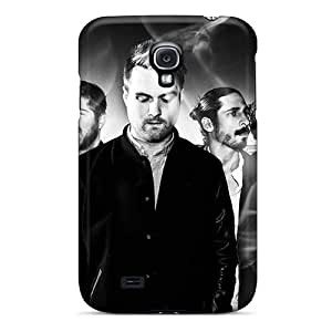 Excellent Hard Cell-phone Cases For Samsung Galaxy S4 (KVN9900LWWA) Unique Design Trendy Rolling Stones Pictures