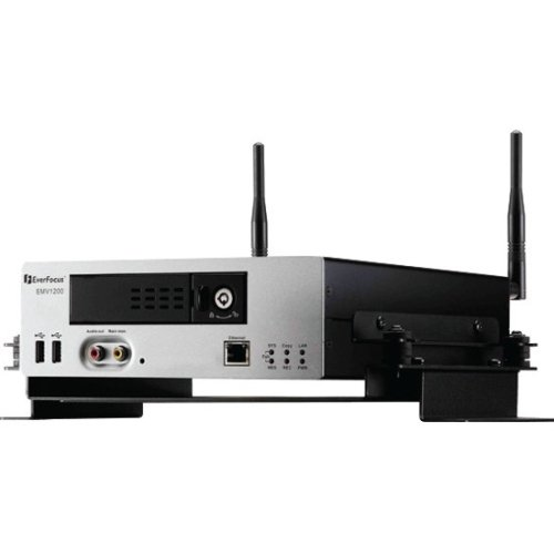 Everfocus EMV-1200W/500M Digital Video Recorder with Wi-Fi, Mobile, 12 Channel, Hot-Swap, 500GB Storage Capacity ()