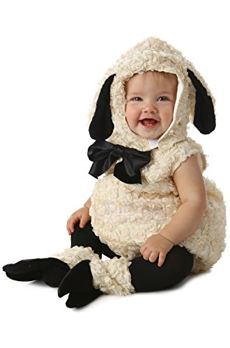 Princess Paradise Baby Vintage Lamb Deluxe Costume, As Shown, 6 to 12 Months