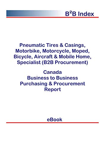 Pneumatic Tires & Casings, Motorbike, Motorcycle, Moped, Bicycle, Aircraft & Mobile Home, Specialist (B2B Procurement) in Canada: B2B Purchasing + Procurement Values