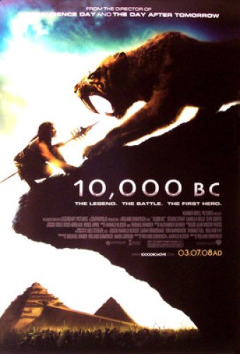 10,000 B.C. 27X40 Double-Sided Regular Camilla Belle Poster -  Silverscreen