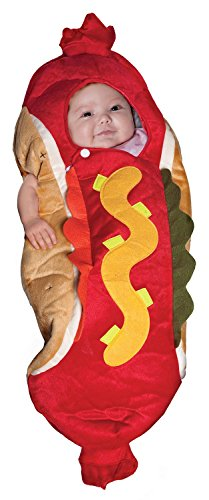 Underwraps Baby's Lil' Hot Dog, Red/Multi, Infant