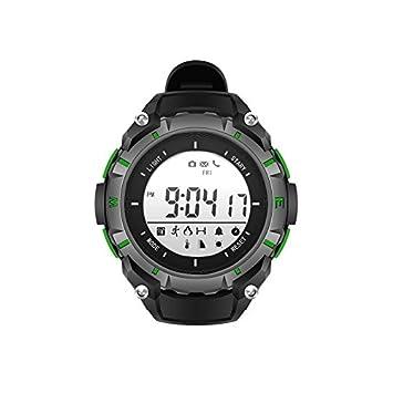 LE Reloj Inteligente a Prueba de Agua Reloj Buceo Reloj Bluetooth Relojes,A: Amazon.es: Deportes y aire libre