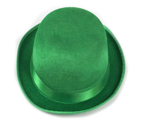 Green Derby Child Hat --- One-Size Fits Most