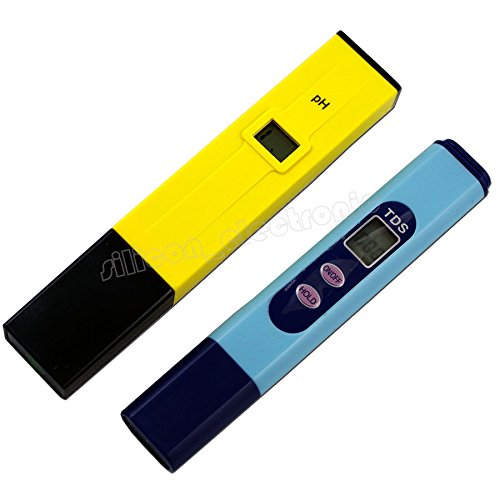 Digital Ph Meter + TDS Tester Aquarium Pool Hydroponic Water Monitor 0-9999 PPM by unbrand