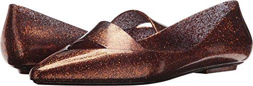 Womens Maisie Flat Shoe Bronze Melissa Glitter wqYxFw