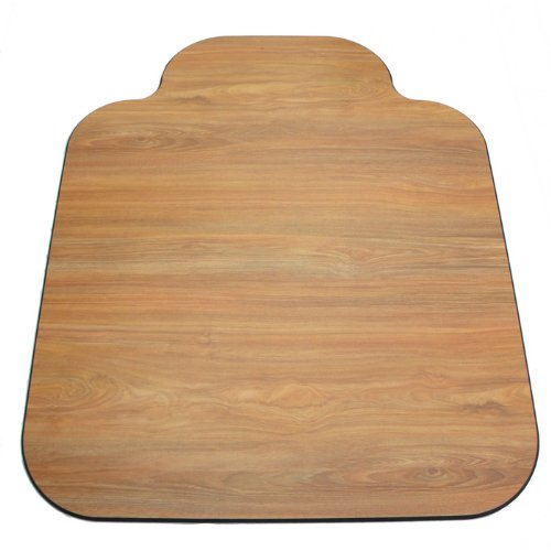 - Laminate Chair Mat-Oak-36x44 with Single Lip