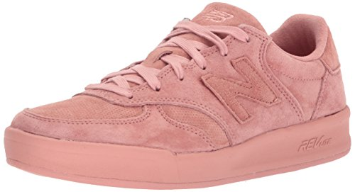 New Balance Women's 300v1 Sneaker, Dusted Peach/Dusted Peach, 105 B US 105 Peach