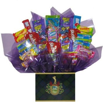 Tart & Taffy Candy Bouquet in a Golf Crest gift box