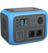 PowerOak Tragbare Powerstation AC50S Mobiler Stromspeicher & Solar Generator mit 230V Steckdose 5...