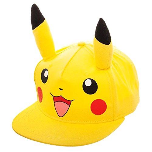 Youth Pokemon Gorra Snapback Pikachu Béisbol De 5FYqBwz