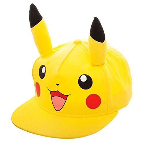 Pokemon Pikachu Youth Snapback Gorra De Béisbol